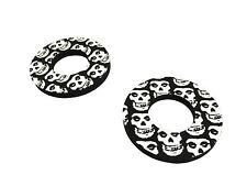 Black Skull Donuts Thumb Blister Protection Fits CR 125 RG 86