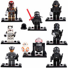 Star Wars Force Awakens Kylo Ren Fin 8 Mini figures building bricks BB-R2 lE Go