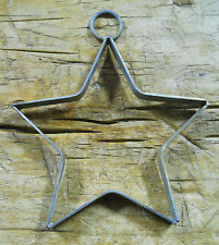 """6 Metal Stars Architectural Stress Washer Texas Lone Star Rustic Ranch 6"""""""