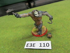 LoTR Lord of the Rings oop painted metal Cave Troll w Chain b