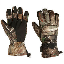 NEW PAIR ONYX ARCTIC SHIELD CAMP GLOVES,REALTREE AP CAMO HUNTING GLOVE,XL/XLARGE