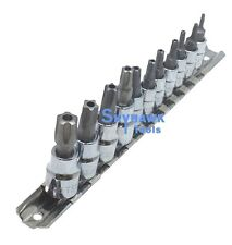 11pc 5 Point Star Torx Plus Sockets Tamper Proof Security Bits