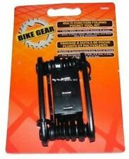 Bike Gear 79009 Compact Folding Tool Kit Trail Mountain Hex Allen Wrench