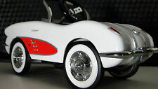 Red Cove Pedal Car 1950s Corvette Vette Chevy Vintage Sport Hot Rod Midget Model