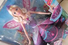 Barbie Mariposa Catania Fairy Princess Skirt Change Wings Move Up Doll