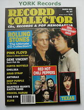 RECORD COLLECTOR MAGAZINE - Issue 247 March 2000 - Rolling Stones / Texas