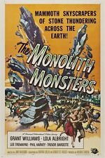 the monolith monsters VINTAGE SCI-FI MOVIE POSTER 1957 horror scary 24X36