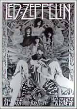 Led Zeppelin Ultimate Fan Poster Song Remains the Same Tribute Steve Harradine