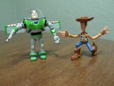 Disney's Toy Story Action Figure Lot of 2 Figures Only Buzz & Woody