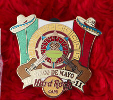 Hard Rock Cafe Pin Online CINCO DE MAYO LE 50  MARGHARITA mexico hat FLAG CITY
