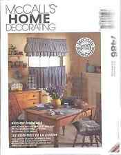 UNCUT Vintage McCalls SEWING Pattern Kitchen Essentials 7486 Covers FF OOP NEW