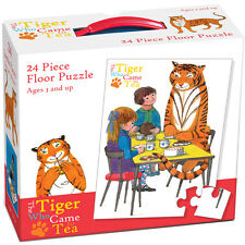 The Tiger Who Came To Tea 24 Piece Floor Jigsaw Puzzle