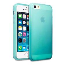 Per nuovi Apple iPhone SE / 5 / 5S Blu TPU Gel Jelly Case Cover