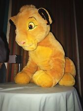 *SUPER RARE* HUGE 2ft Sitting Cub Lion King Simba Disney (Ravensburger?)