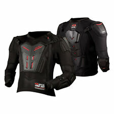 L Large Youth Kids EVS Compression Suit Motocross Armour Motorbike BMX