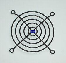 Lüftergitter Schutzgitter Metall schwarz 80x80mm für 80mm Gehäuselüfter