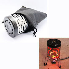 Portable Mini Heater Cap for Butane Gas Stove Burner Stainless Outdoor Camping