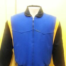 CRIPPLE CREEK JACKET - M - Royal Blue/Black/Yellow - CR2666 - NEW W/TAGS