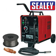 Sealey Mightymig 150 professionale a gas/No-Gas Mig Saldatore 150amp 230v con Punta & FILO