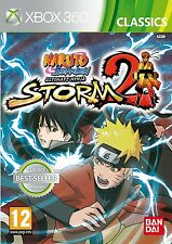 Naruto Shippuden Ultimate Ninja Storm 2 II - Classics (Xbox 360) NEW SEALED