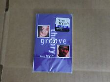 GROOVE THEORY KEEP TRYIN' FACTORY SEALED CASSETTE SINGLE