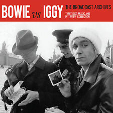 DAVID BOWIE & IGGY POP New Sealed 2016 BROADCAST ARCHIVES 3 CD BOXSET