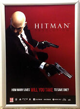 Hitman Absolution RARE XBOX 360 PS3 42cm x 60cm Promo Poster #1