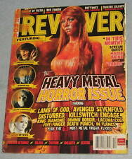 REVOLVER Magazine Heavy Metal Horror Issue RARE December 2008 Dimmu Borgir A7X