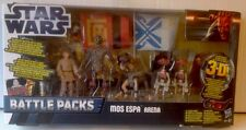STAR WARS Battle Packs MOS ESPA ARENA , C3PO, ANAKIN,SEBULBA & 2 PIT DROID 3.75""