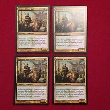 MTG X4 Armored Wolf-Rider Dragons Maze Magic the Gathering Green White Cards