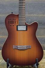 "Godin A6 Ultra Cognac Burst HG ""SF"" Electro-Acoustic Guitar w/ Bag - #17282197"