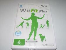 Wii Fit Plus Nintendo Wii PAL Preloved *No Manual*
