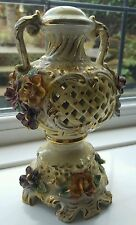 vintage italian porcelain  lamp base
