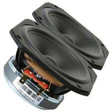 "Pair Vifa TC9FD-18-08 3"" Full Range Paper Cone Woofer Speaker 8 ohm 83.5dB"