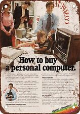 1980 Apple Personal Computers Vintage Look Reproduction Metal Sign