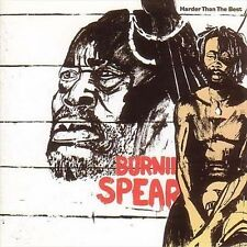 BURNING SPEAR Harder Than The Best CD BRAND NEW Compilation