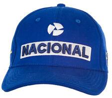 Ayrton Senna Cap Nacional blau AS-15-009