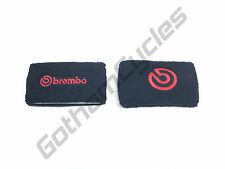 GENUINE Brembo RCS 15 17 19 Front Brake Reservoir Tank Fluid Sock Cuff Sweatband