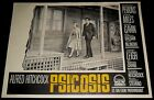 1960 Psycho ORIGINAL SPAIN 1ST '61 LOBBY CARD Alfred Hitchcock Anthony Perkins D
