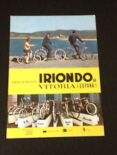 CIL IRIONDO BICICLETA CYCLE VELO - CICLISMO CYCLISME - CATALOGUE CATALOGO