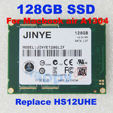 "1.8"" JINYE 128GB SSD REPLACE  HS12UHE/A Hard Drive LIF F MACBOOK AIR rev.b rev.c"