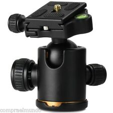 Tripod Monopod Metal Ball Head with Arca-Swiss Type PU60 Quick Release Plate