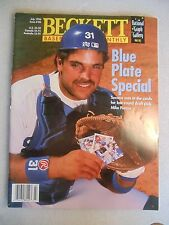 1996 Beckett Baseball Card Monthly magazine Mike Piazza LA Dodgers # 136