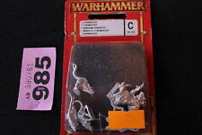 Games Workshop Warhammer Fantasy Skaven Clan Moulder Packmaster + Giant Rats OOP