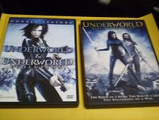 (3) Underworld Vampire Horror DVD Lot: Underworld Evolution & Rise of the Lycans