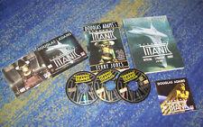 Douglas Adams astronave Titanic PC Starship + soluzione libro e più COMPL. pacchetto.