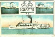 Rochester, NY The Steamers: Caspian, North King and Toronto 1913