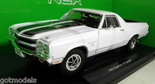 Nex 1/18 Scale 12543 1970 Chevrolet El Camino SS White Diecast model car