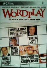 WORDPLAY (2006) Crossword Puzzles Bill Clinton Bob Dole Jon Stewart Ken Burns