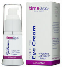 Timeless Skin Care Dark Circle Eye Cream With 100% Hyaluronic Acid + Haloxyl15ml